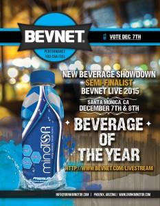 minoTOR New Beverage Showdown Poster