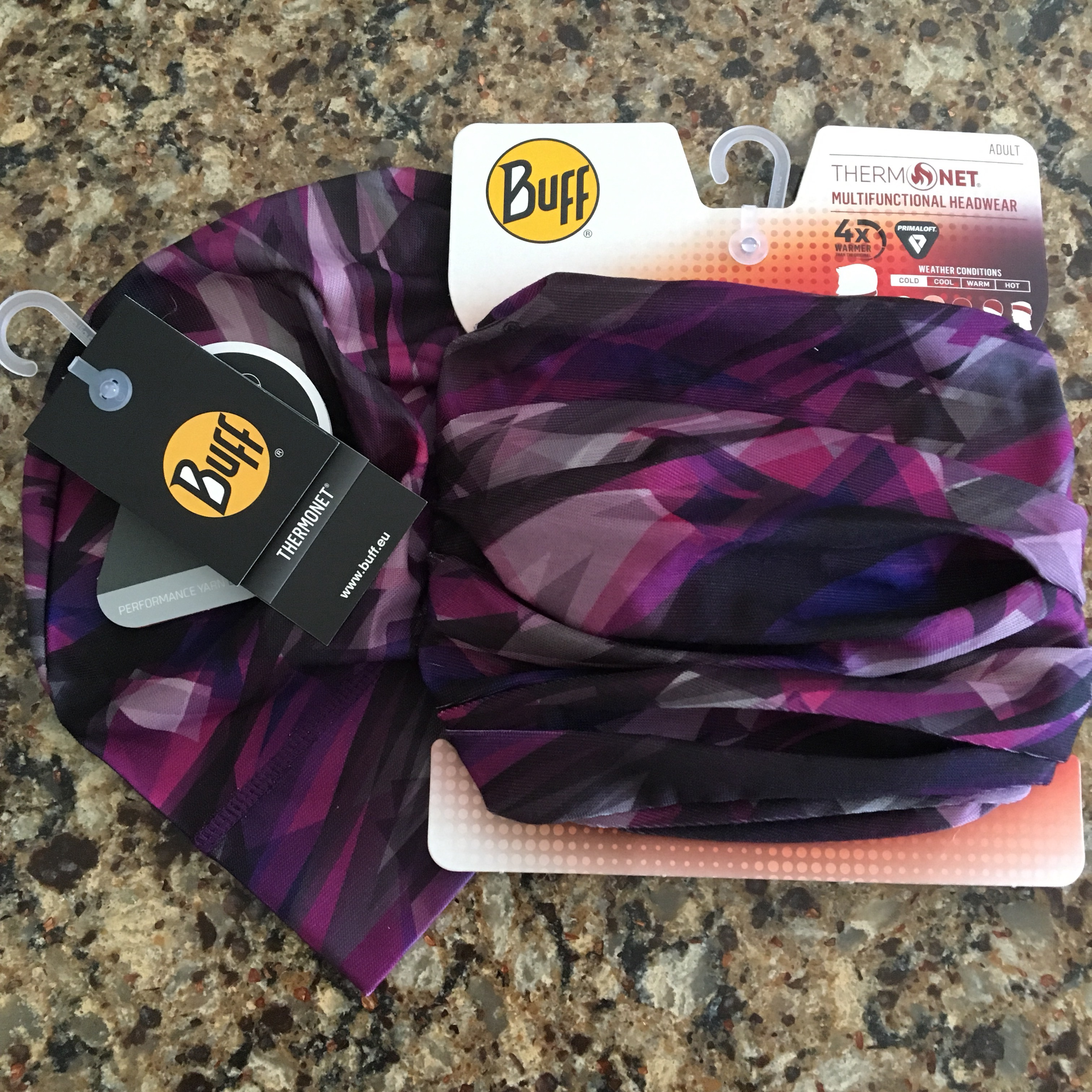 I have welcomed another BUFF® multifunctional head wrap into my home! I  have quite the collection 174427e424d